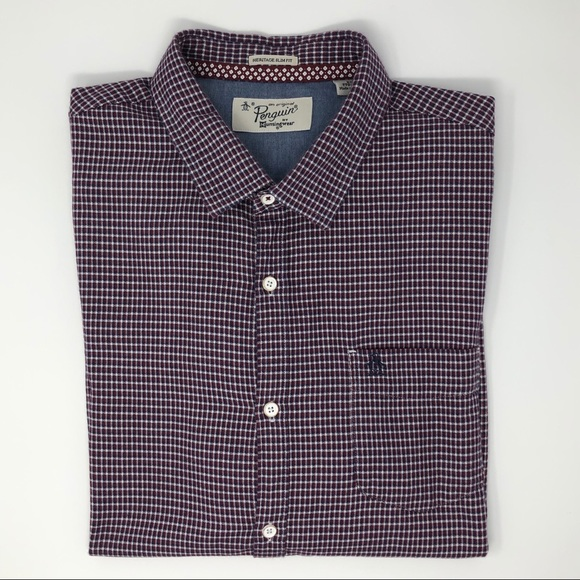 Original Penguin Other - Penguin Heritage Slim Fit Button Down Size XXL